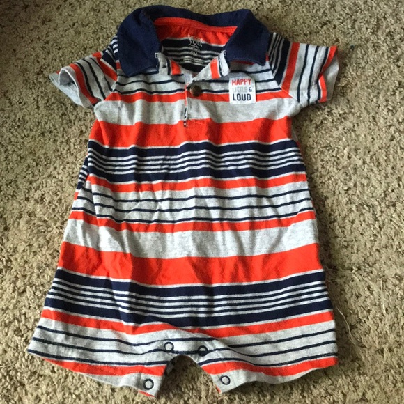 New Carter/'s 2 Pack Rompers Boys 6m 9m NWT Black /& White Happy Cute